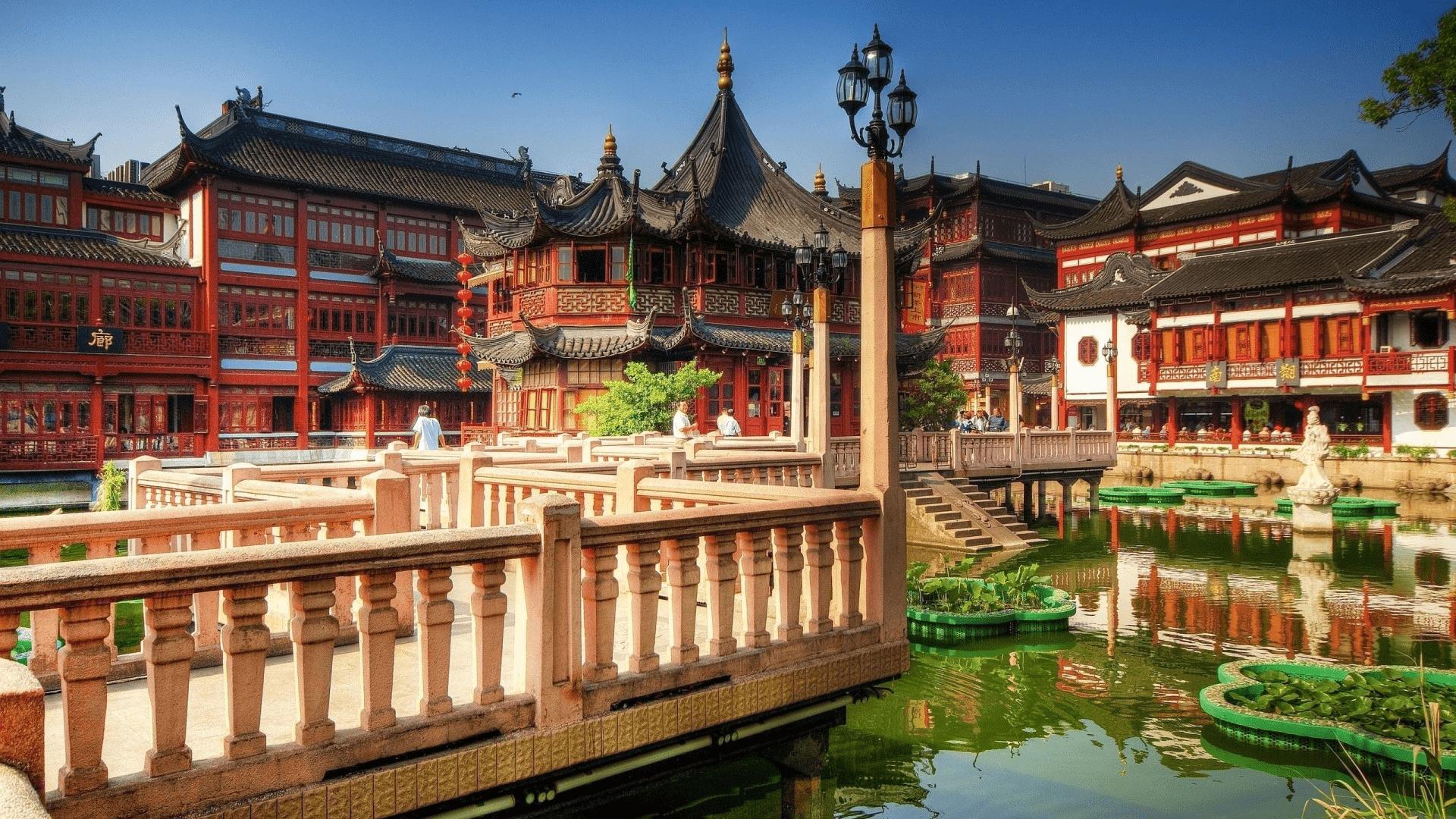 Beautiful Shanghai, China