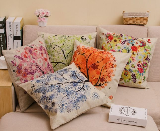 cool pillow cover for summer