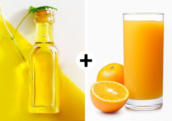orangeand glycerine