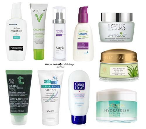Best Moisturizer & Face Cream Read more at HeartBowsMakeup.com : https://www.heartbowsmakeup.com/best-moisturizer-face-cream-oily-skin-india-top-10/