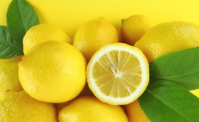 lemon for suntan