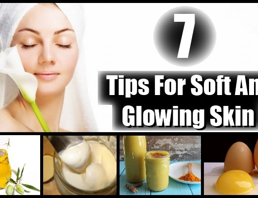 glowing skin tips