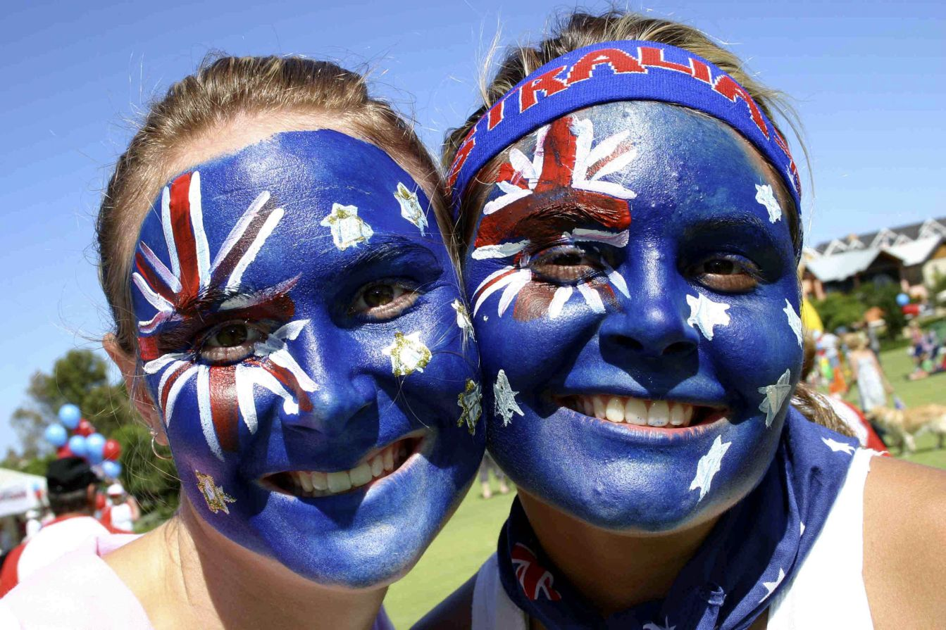 Australia happiest contry