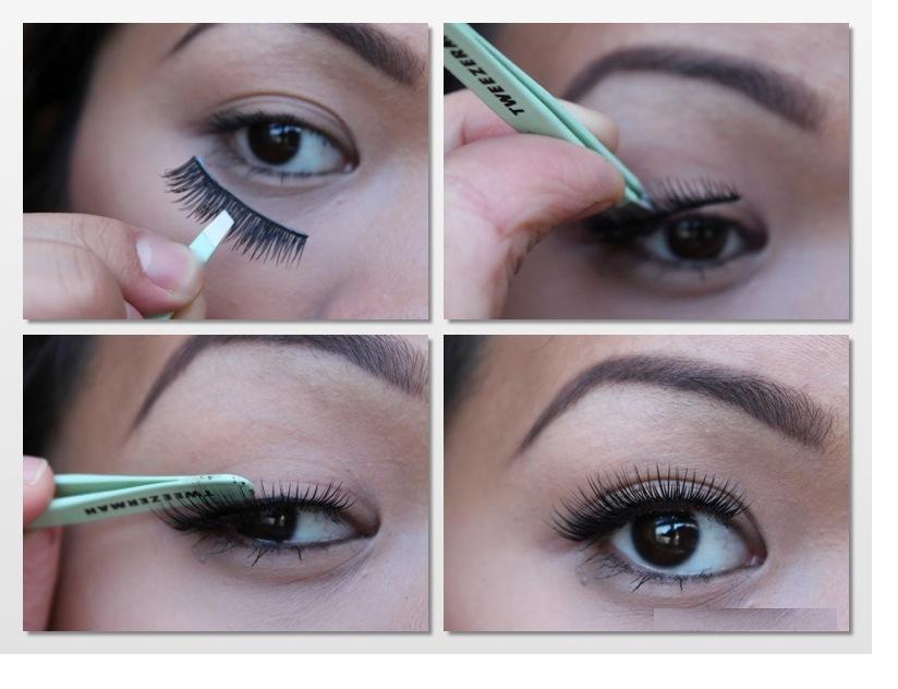 apply eyelash
