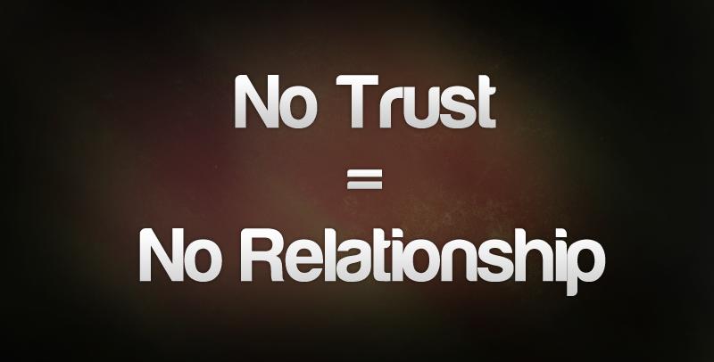 build trust
