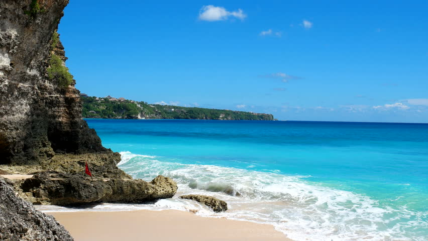 Dreamland beach on Bali.