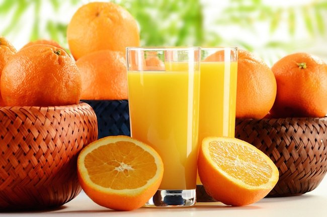 fruit juice for skin