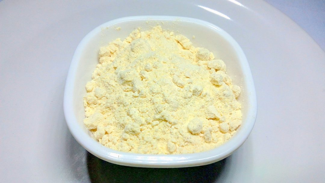 Gram flour for whitening