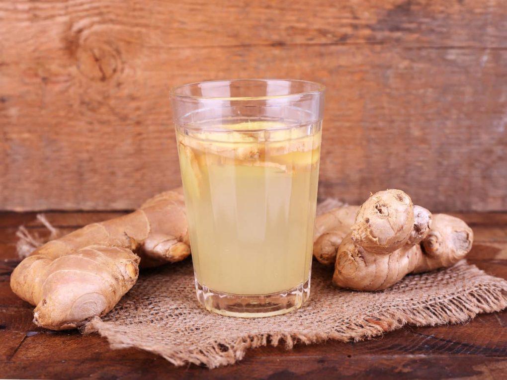 ginger juice fir hair