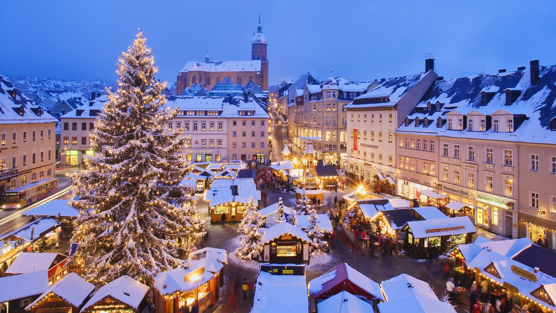 german christmas stree