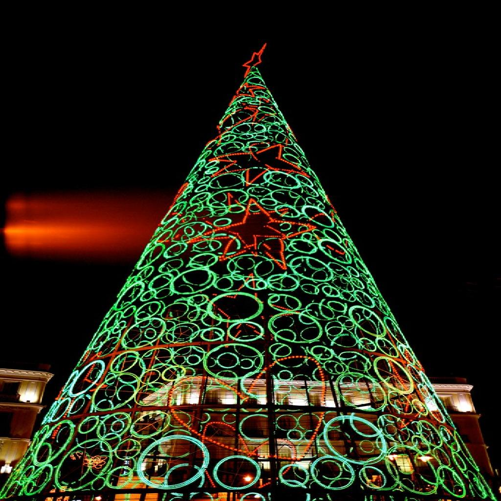 Top 10 Most Beautiful Christmas Trees Around The World | Trabeauli