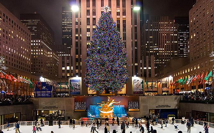 new york city christmas tree