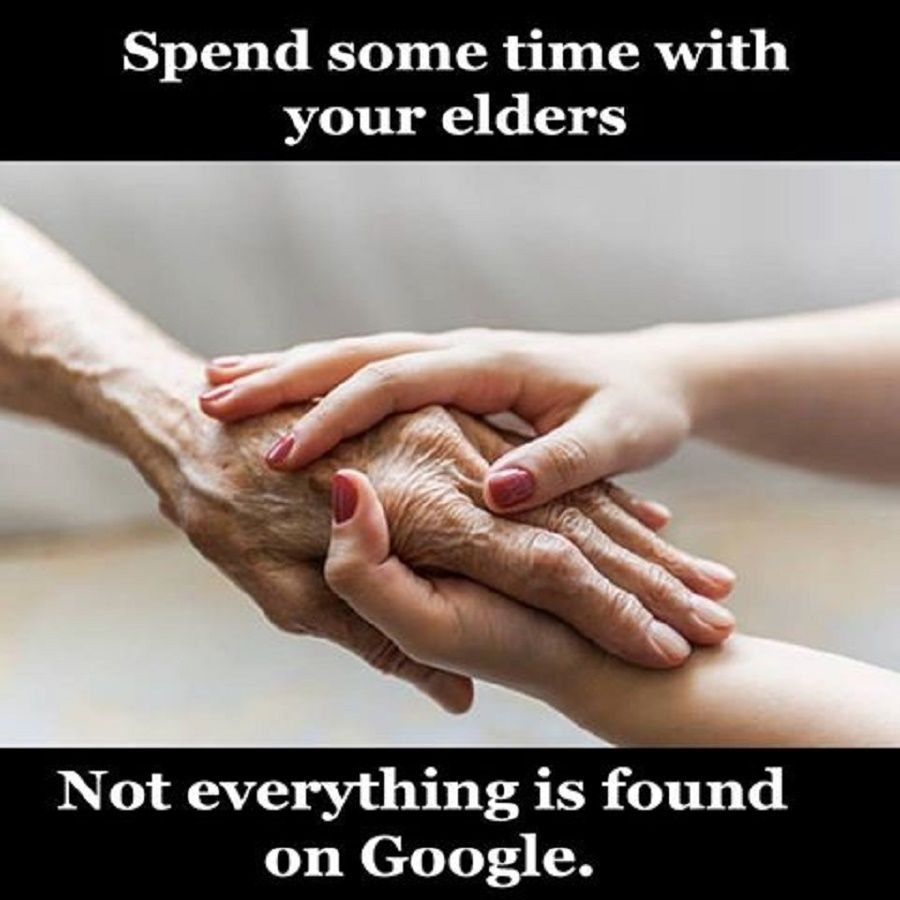 spend some time with elders