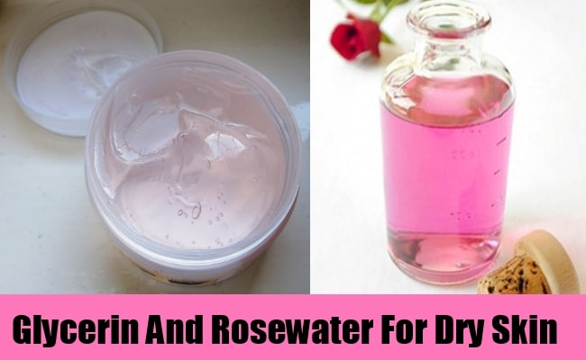 glycerin with rose water