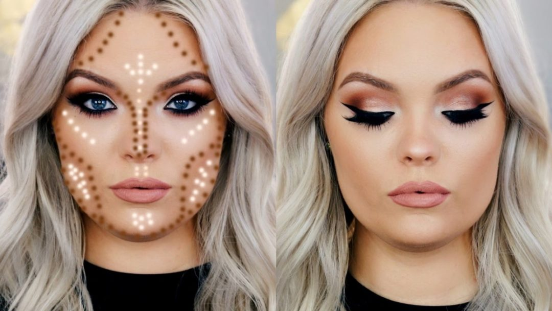 makeup tips for round chubby face