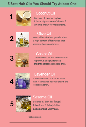 Best hair oils for all type hair
