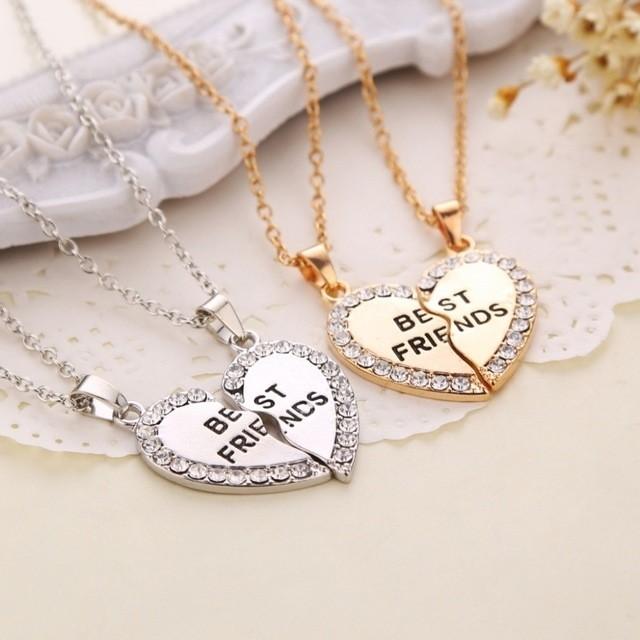 best friends pendant