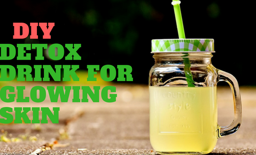 DIY Detox Drink For Weight Loss & Glowing Skin