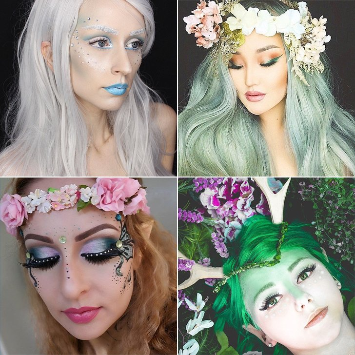 10 cool halloween makeup ideas step by step with picture in 2018 fairy costume makeup ideas solutioingenieria Gallery