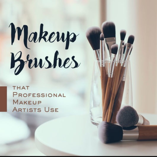 list of makeup brushes and their uses