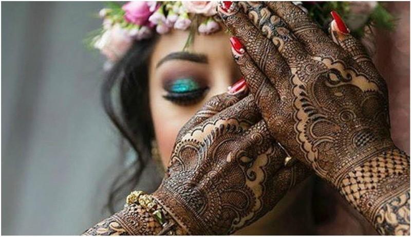 bridal mehdi design