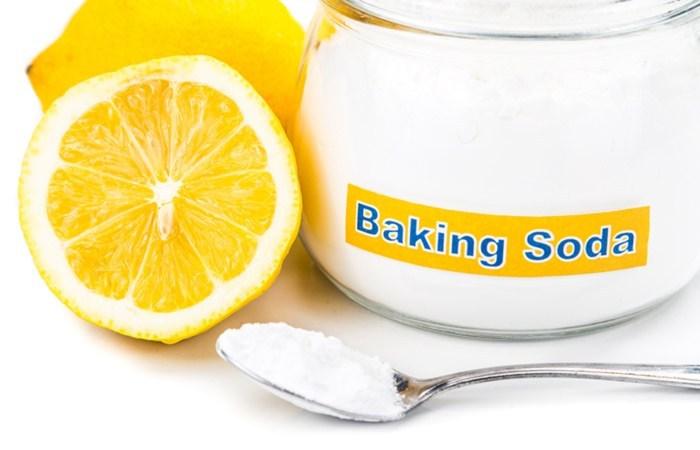 bakingsoda with lemon