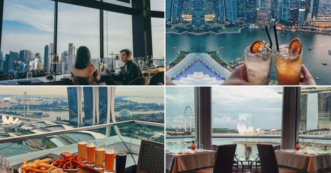 rooftop restaurants singapore
