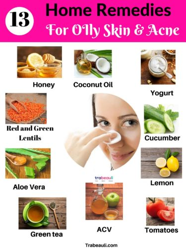 13 Home Remedies For Oily Skin To Glowing At Home Diy Trabeauli