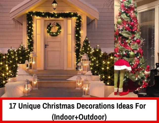 17 Unique Christmas Decorations Ideas