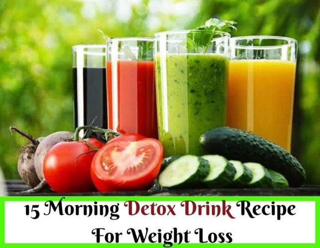 Homemade Best Drink For Losing Weight